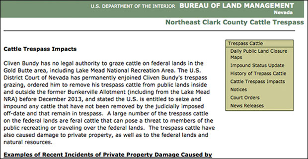 041114document1 Feds Desperate to Hide Harry Reid Link to Bundy Land Grab