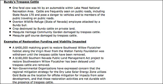 Breaking: Sen. Harry Reid Behind BLM Land Grab of Bundy Ranch 041114document2