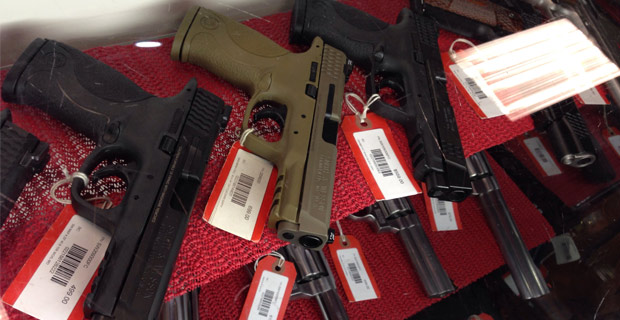 The ATF is targeting gun shops for their customer data. Credit: Dannielle Blumenthal / Flickr