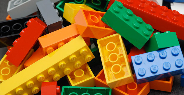 Legos, a popular brand of construction toys. Credit: Alan Chia / Wiki