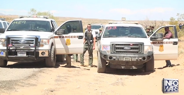 BLM agents who impounded Cliven Bundy's cattle.