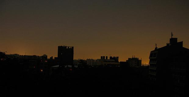 Paris during a complete blackout. Credit: gabyu / Flickr