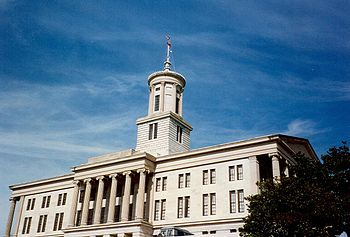 The Tennessee State Capitol in Nashville / Photo by Ichabod, via Wikimedia Commons