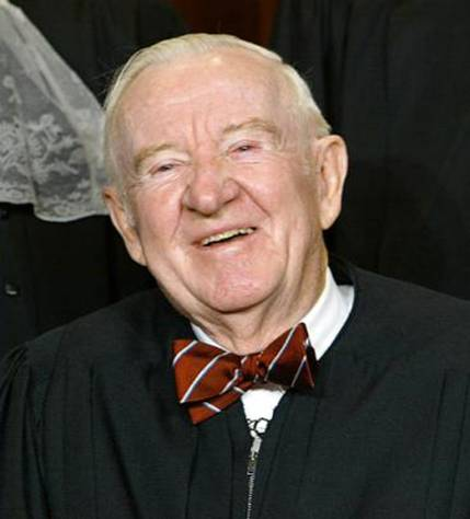 Supreme Court justice John Paul Stevens. Photo: Wikimedia Commons