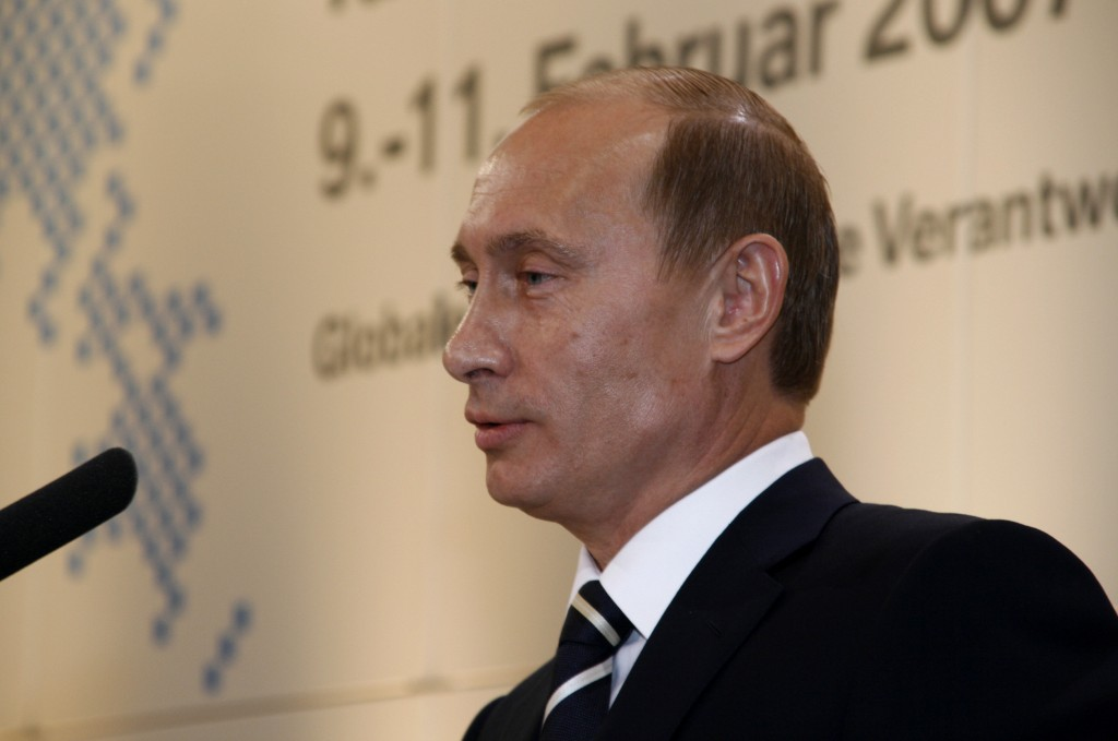 Russian President Vladimir Putin. Photo: Antje Wildgrube via Wikimedia Commons
