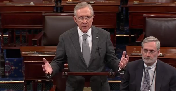 Sen. Harry Reid: Bundy Dispute 'Not Over'