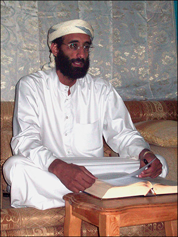 U.S. citizen Anwar Al-Awlaki killed by U.S. drone strike on Sept. 30, 2011 absent of due process.