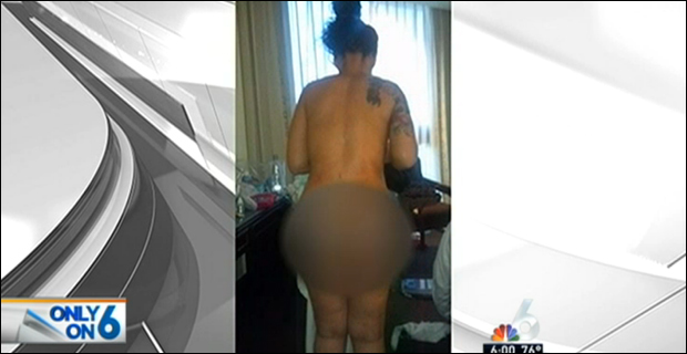 CBP agent wanted to see before and after photos, Teamer claims. / Image: WTVJ