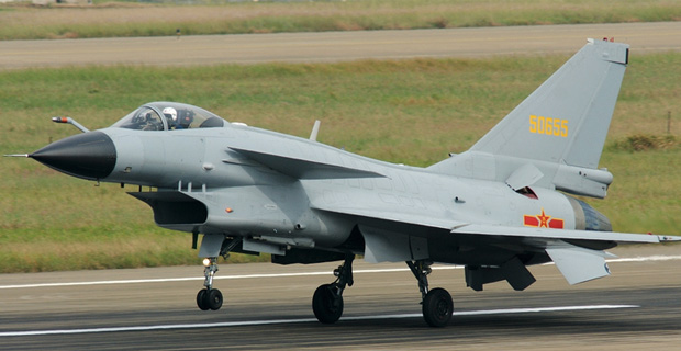 J-10 0A seen at Zhuhai airshow / Photo: Retxham, via Wikimedia Commons