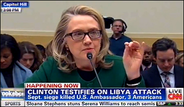 Clinton joined others in blaming the video for inciting outrage overseas.