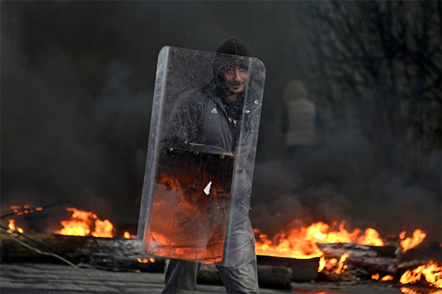 The eastern city of Slavyansk on April 13, 2014. (Reuters / Maks Levin), via RT.com