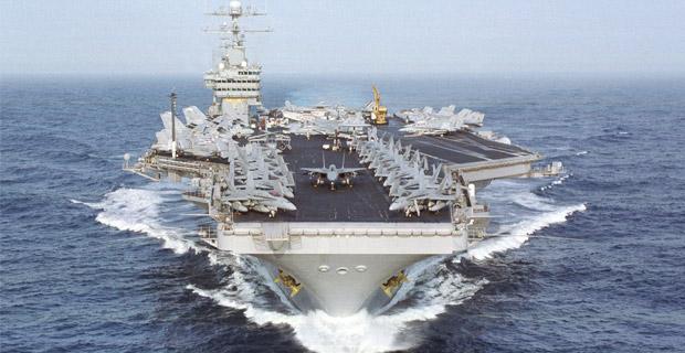 Aircraft carrier Dwight D. Eisenhower (CVN 69) and Carrier Air Wing Seven (CVW-7).