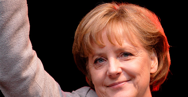 Angela Merkel has been the Chancellor of Germany since 2005.  Credit: Aleph / Wiki
