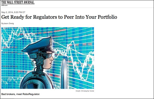 """The Wall Street Journal recently reported on the CARDS database and quoted FINRA's chairman stating that the dragnet """"would provide us with a treasure trove of information."""""""