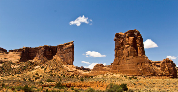 The typical landscape in vast stretches of Utah. Credit: katsrcool / Flickr