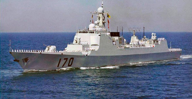Credit: A Chinese Luyang II-Class destroyer