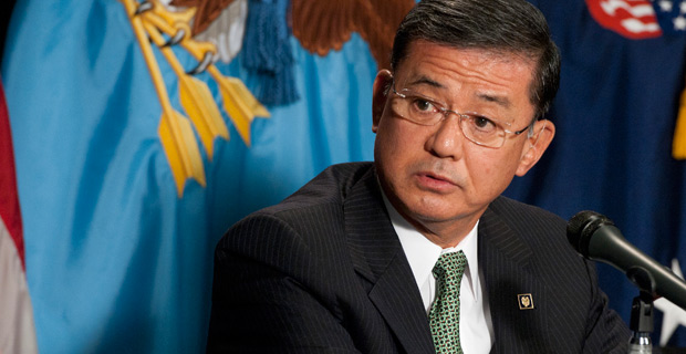 Eric Shinseki has served as the seventh United States Secretary of Veterans Affairs since 2009. (Public domain)