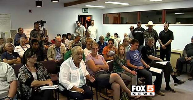 Citizens sound off on federal overreach / Image credit: Fox 5 Las Vegas