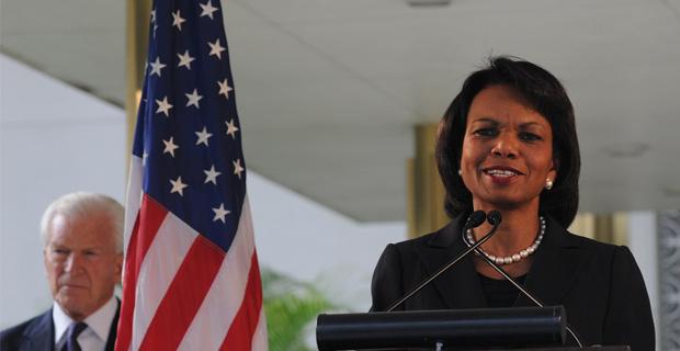 Secretary Condoleezza Rice India visit, December 3, 2008
