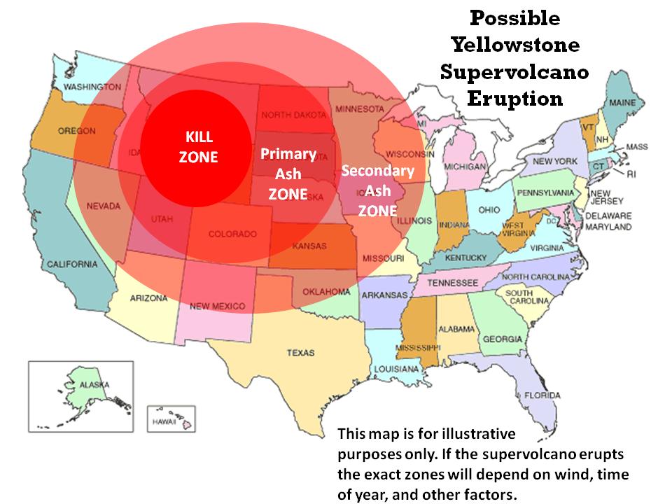 Yellowstone volcano 2014