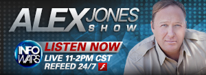 Listen To The Alex Jones Show