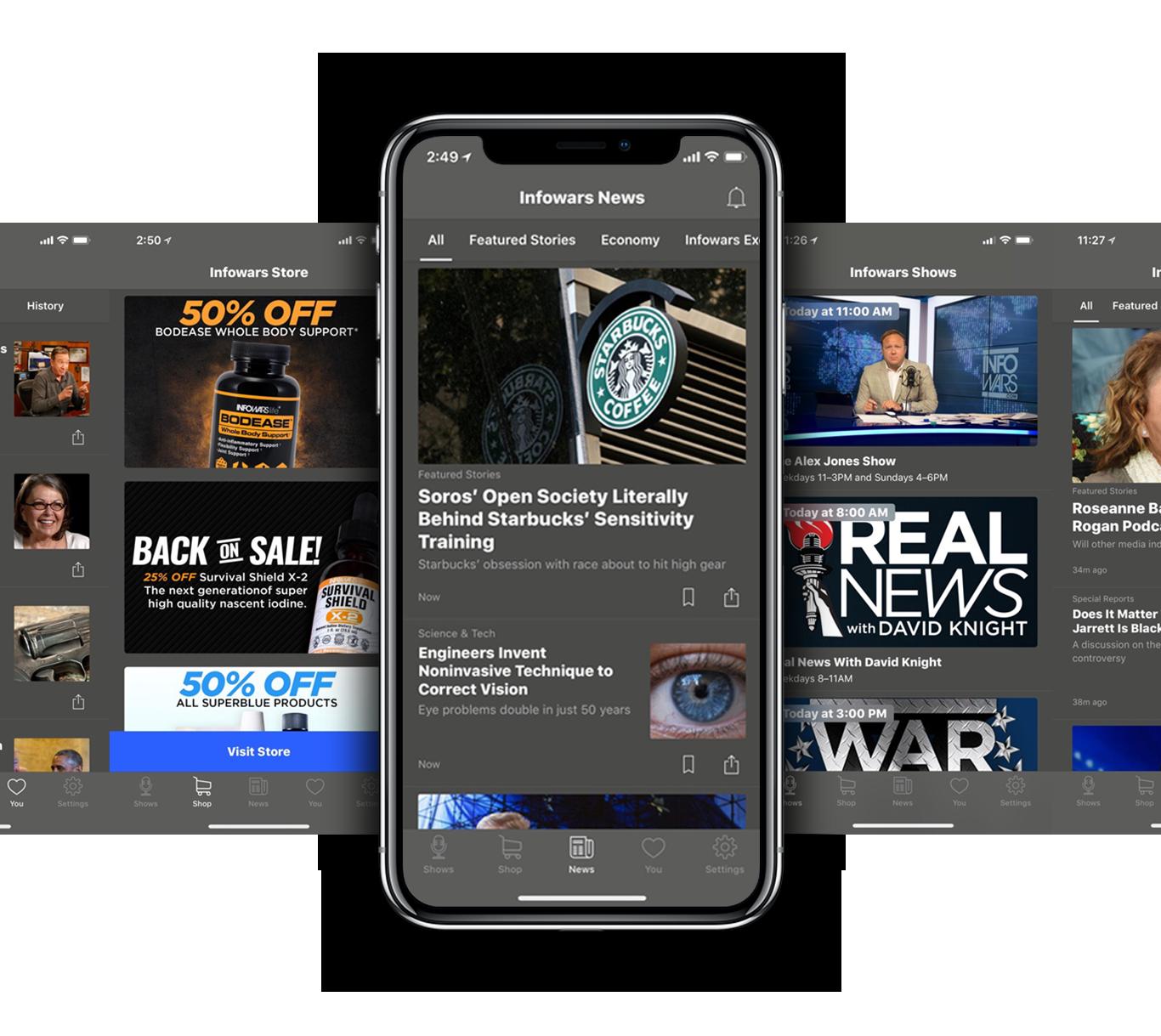 infowars prime app