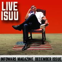 Infowars Magazine Cover
